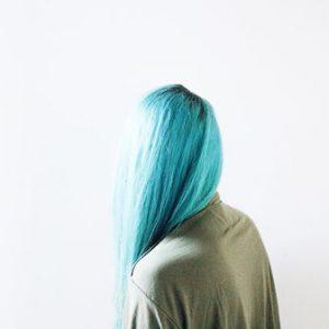 dlhe zelene vlasy